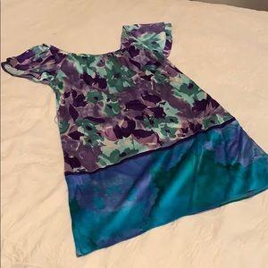 Hale Bob Silk Dress